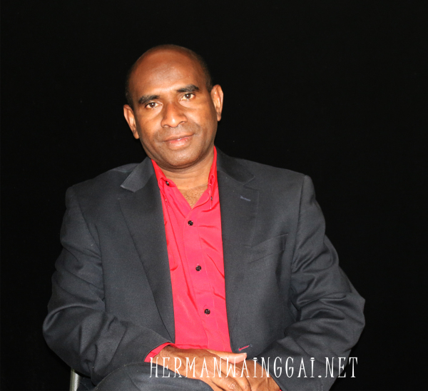 West Papua  Herman Wainggai