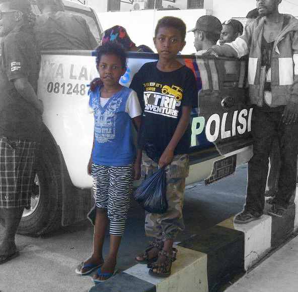 More than One Hundred arrested in West Papua including a 9-year old boy