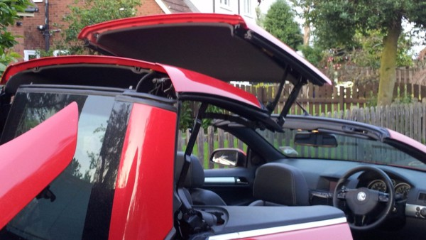 astra twin top twintop roof repair