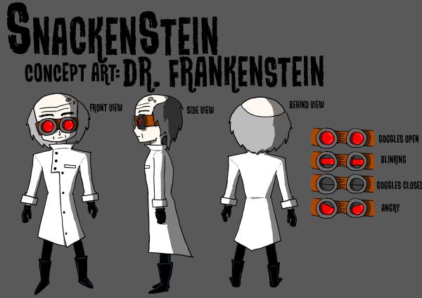 Concept Art - Dr. Frankenstein