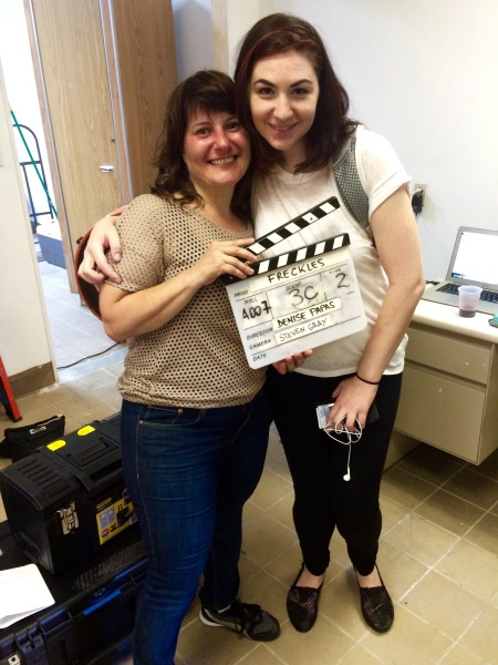Director Denise Papas Meechan and Lead Actor Jenn Halweil wrap!