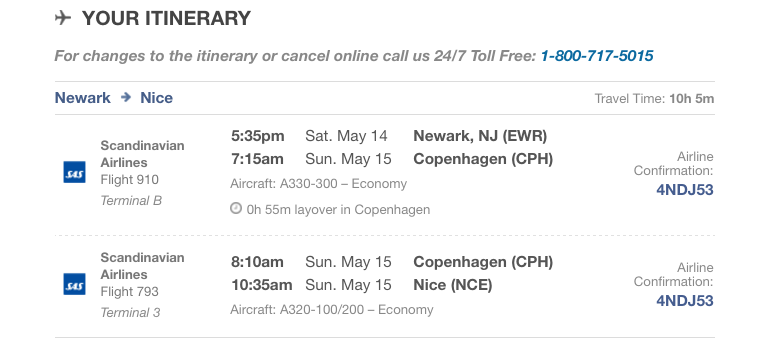 Airline Tix to Cannes!