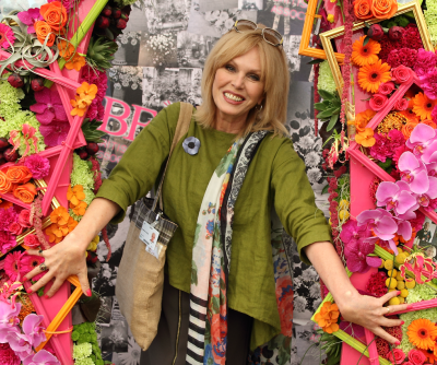 Joanna Lumley Actress, Chelsea Flower Show, 2017.