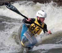 Canoe Slalom, Holme Pierrepoint, Nottingham, England.