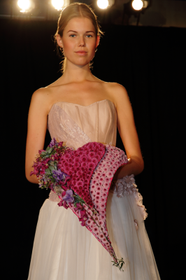 WEDDING BOUQUET BY PIRJO KOPPI AT BLOMSTER SHOW COPENHAGEN