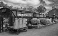 Oakworth Railway Station, Worth Valley Railway, Yorkshire, England.