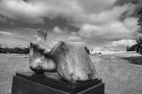 Henry Moore Sculpture, Yorkshire Sculpture Park, Yorkshire, England.