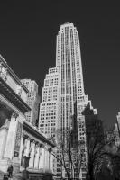 5th & 42nd street, Manhattan, New York City, USA.