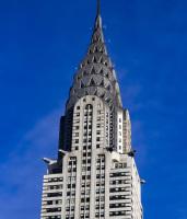 Art Deco Chrysler Building, New York City, USA.