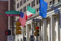 Chestnut Street, Philadelphia, USA.