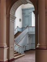 Interior of Independence Hall, Philadelphia, USA.