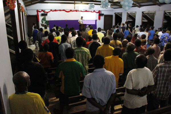 Youth Rally at Luganville Baptist Church
