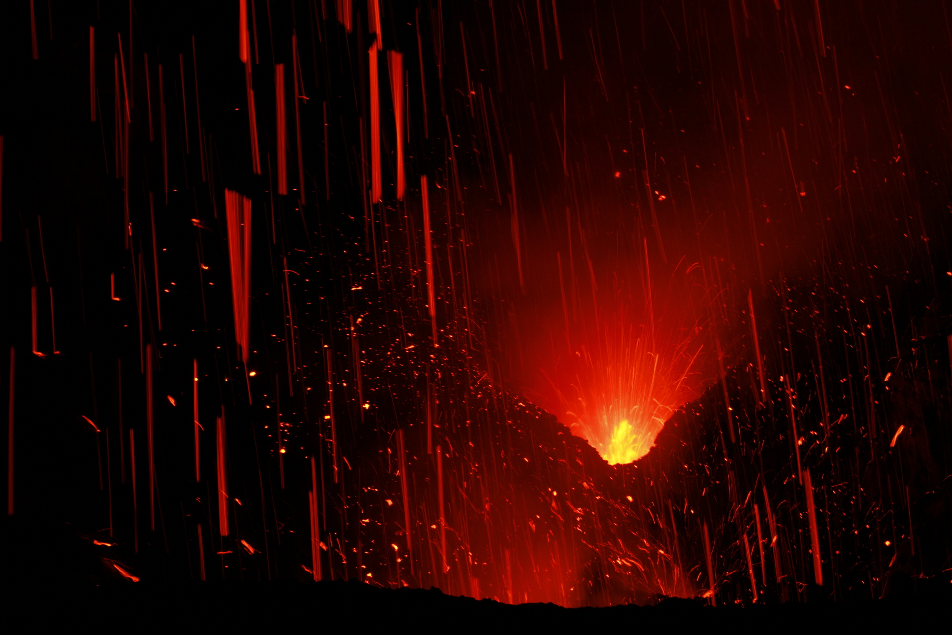 Volcano in Tanna