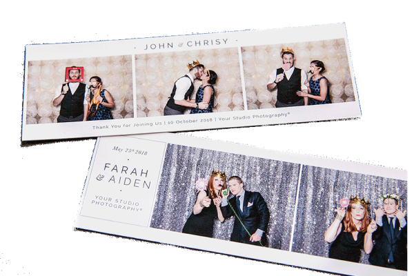 Photo booth Strip layout