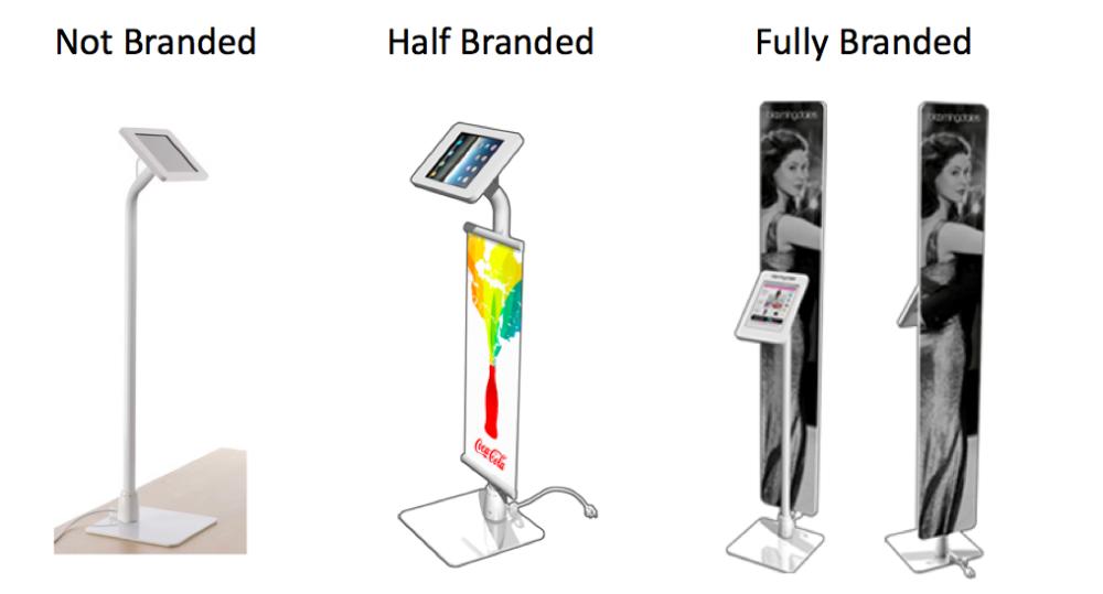 Corporate Branded kiosk