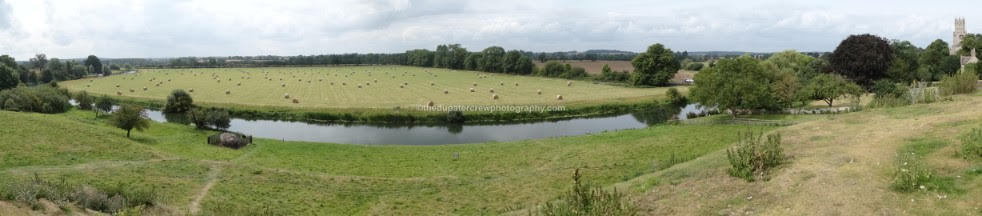 The river Nene at Fotheringhay