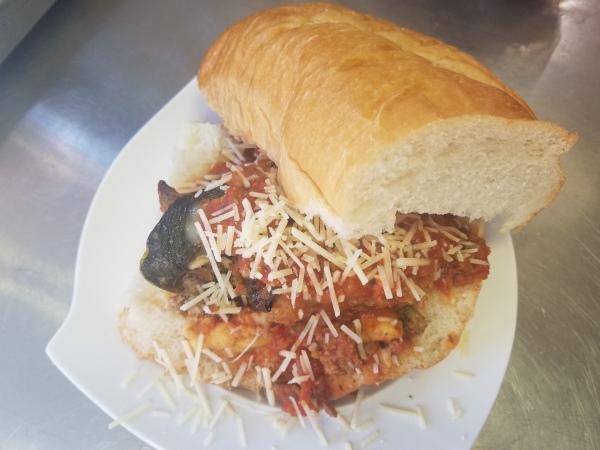 Hot Dago Sandwich