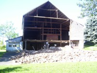 Investigative Engineering, Barn Wall Collapse