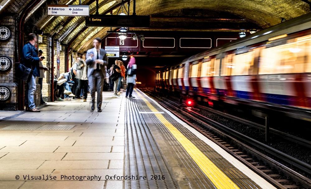London underground long exposure photography  2