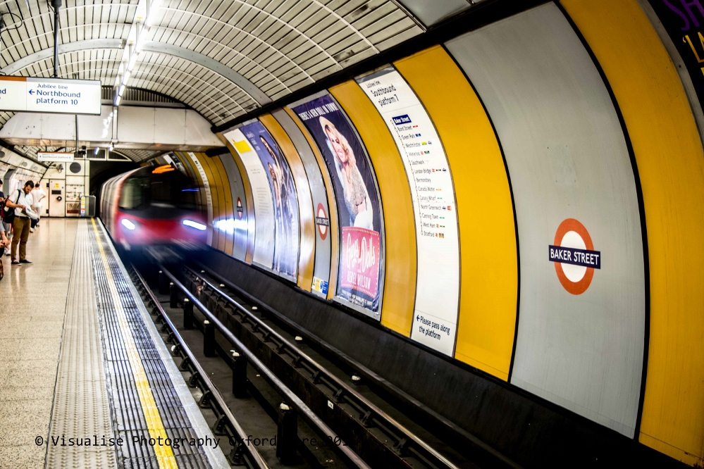 London underground long exposure photography  3