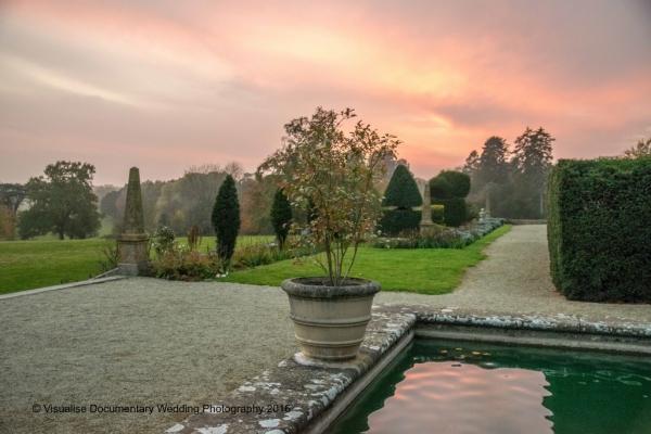 the gardens at eynsham hall oxfordshire