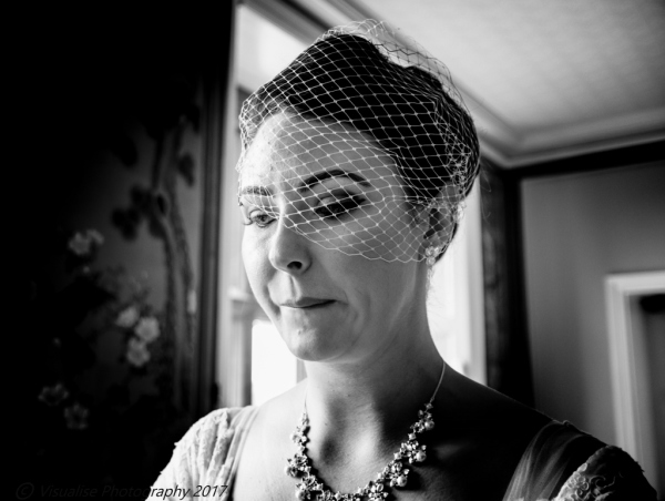 wedding photography in oxfordshire, the bride crying with joy