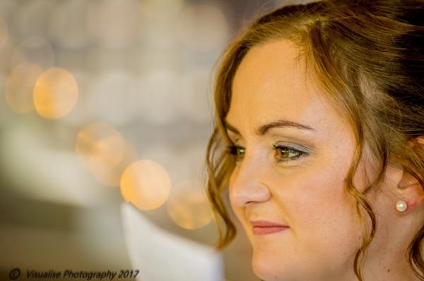 beuatiful bride shot by visualise photography oxfordshire