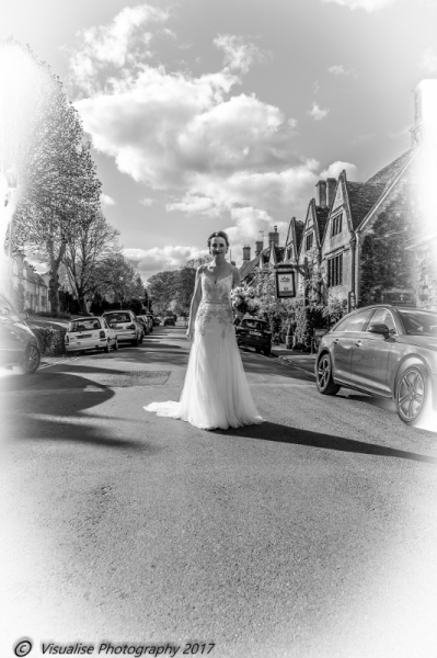 BURFORD HGIH STREET WEDDING