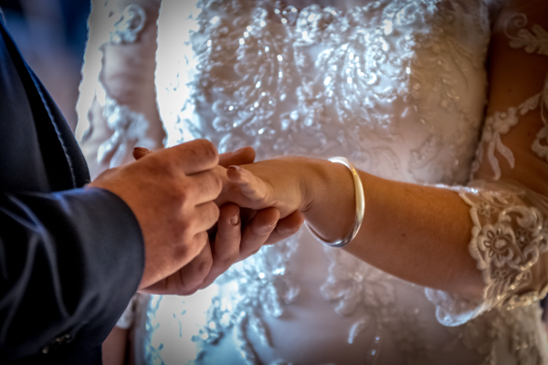 Wedding day photography with brides and grooms in oxford