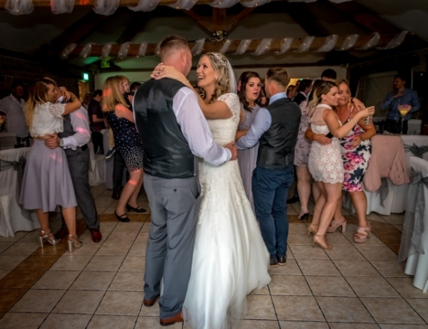 tally ho hotel first dance wedding day
