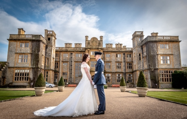 a military wedding at eynsham hall