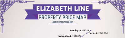 Property Price Map Reveals Exceptional Growth Across The Elizabeth Line Route