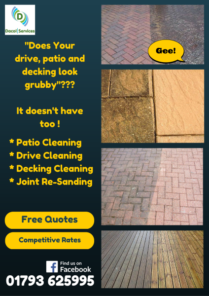 patio cleaning in swindon