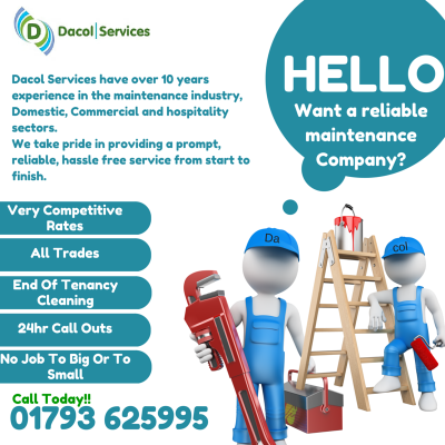want a reliable maintenance company