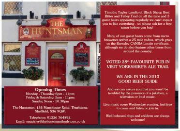 The Huntsman, Thurlstone