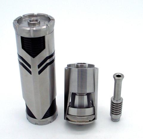 Ares Rebuildable Tank Atomizer + 26650 Mechanical Mod Kit
