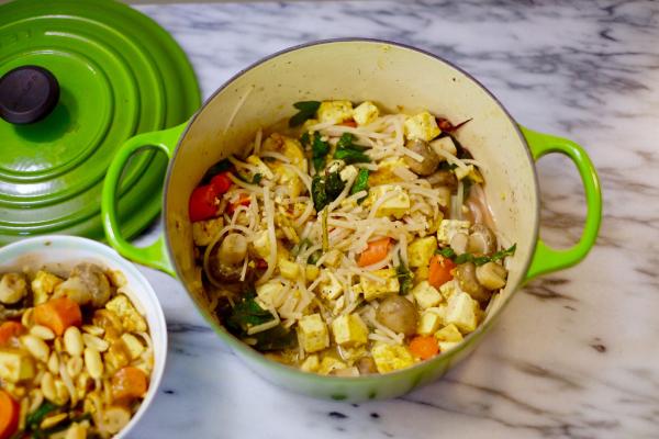 Easy Vegan Pad Thai