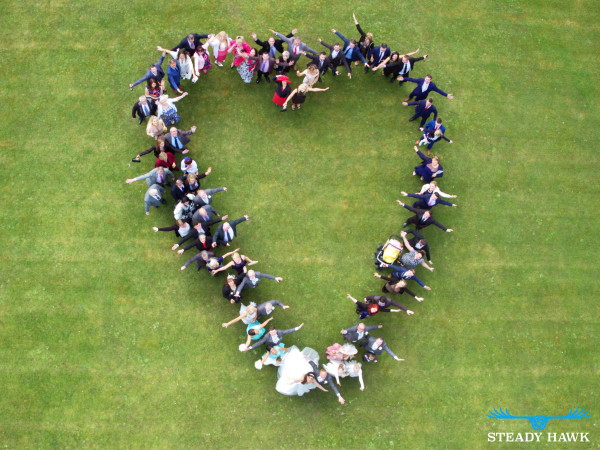 wedding photography using drones