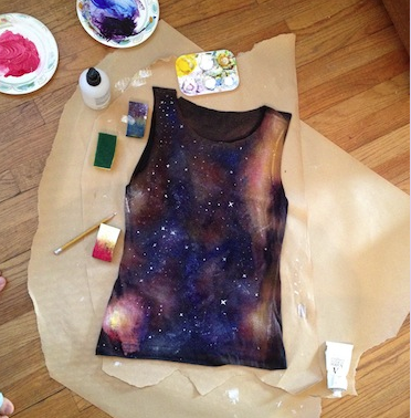 galaxy space party birthday party sewing crafting sew craft kids san antonio abby's attic