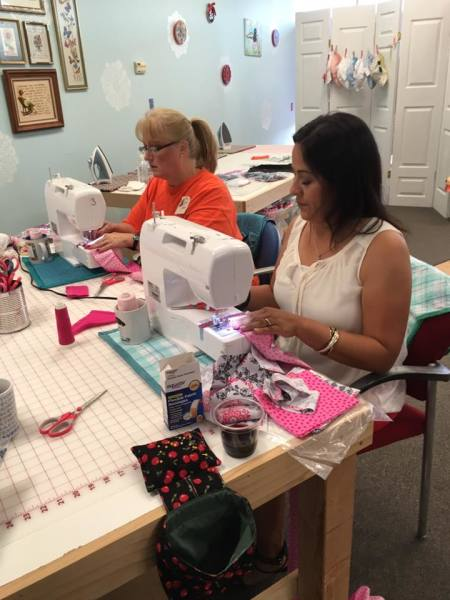sewing lessons kids adults