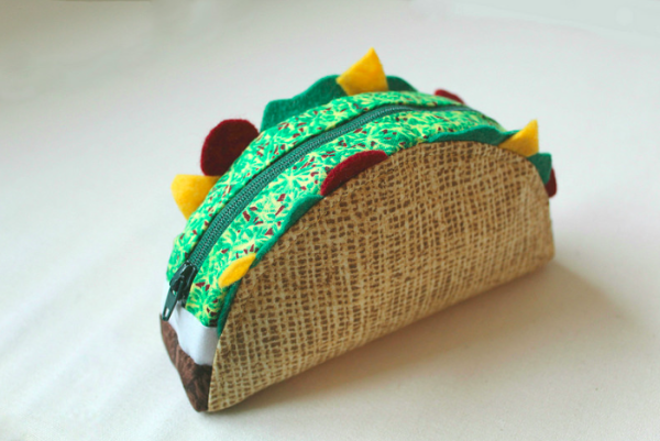 Taco Pouch for Kids