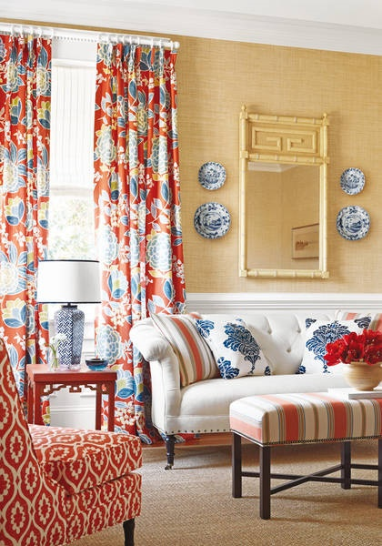Thibaut Floral Traditional Decor