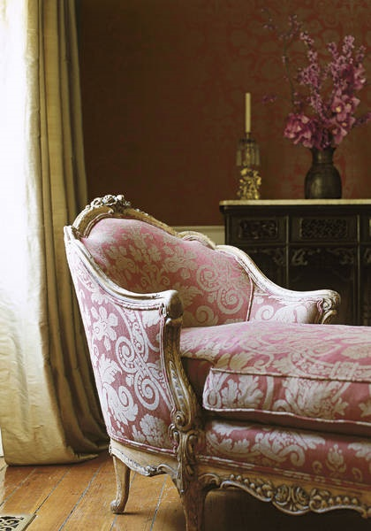 Damask Chair Interior Design