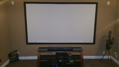 Customized 120 inch HD Projector Screen