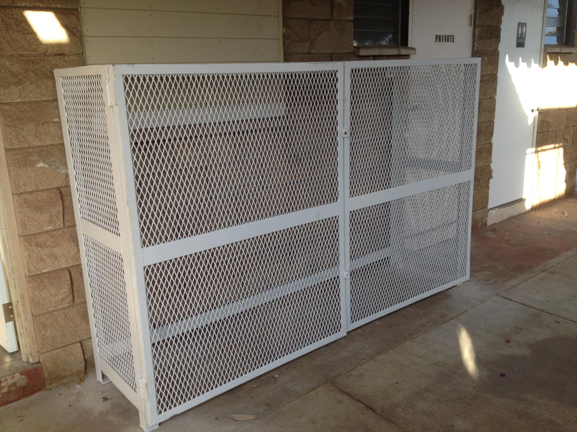 Custom Propane Rack