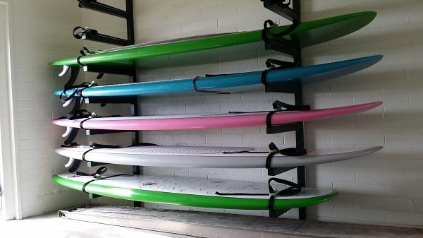Custom Surfboard Rack