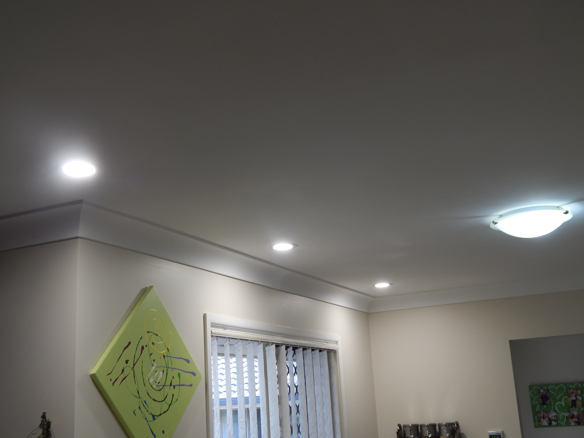 New LED downlights