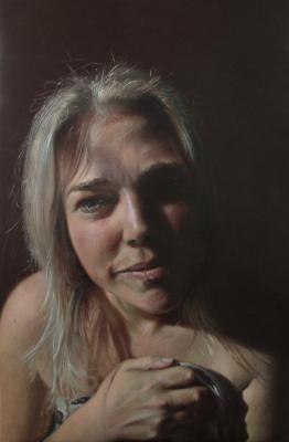 """'Real Heidi' ~ 24 x 36"""" ~ Oil on canvas ~ Heidi Lee Anderson Hit92.9"""