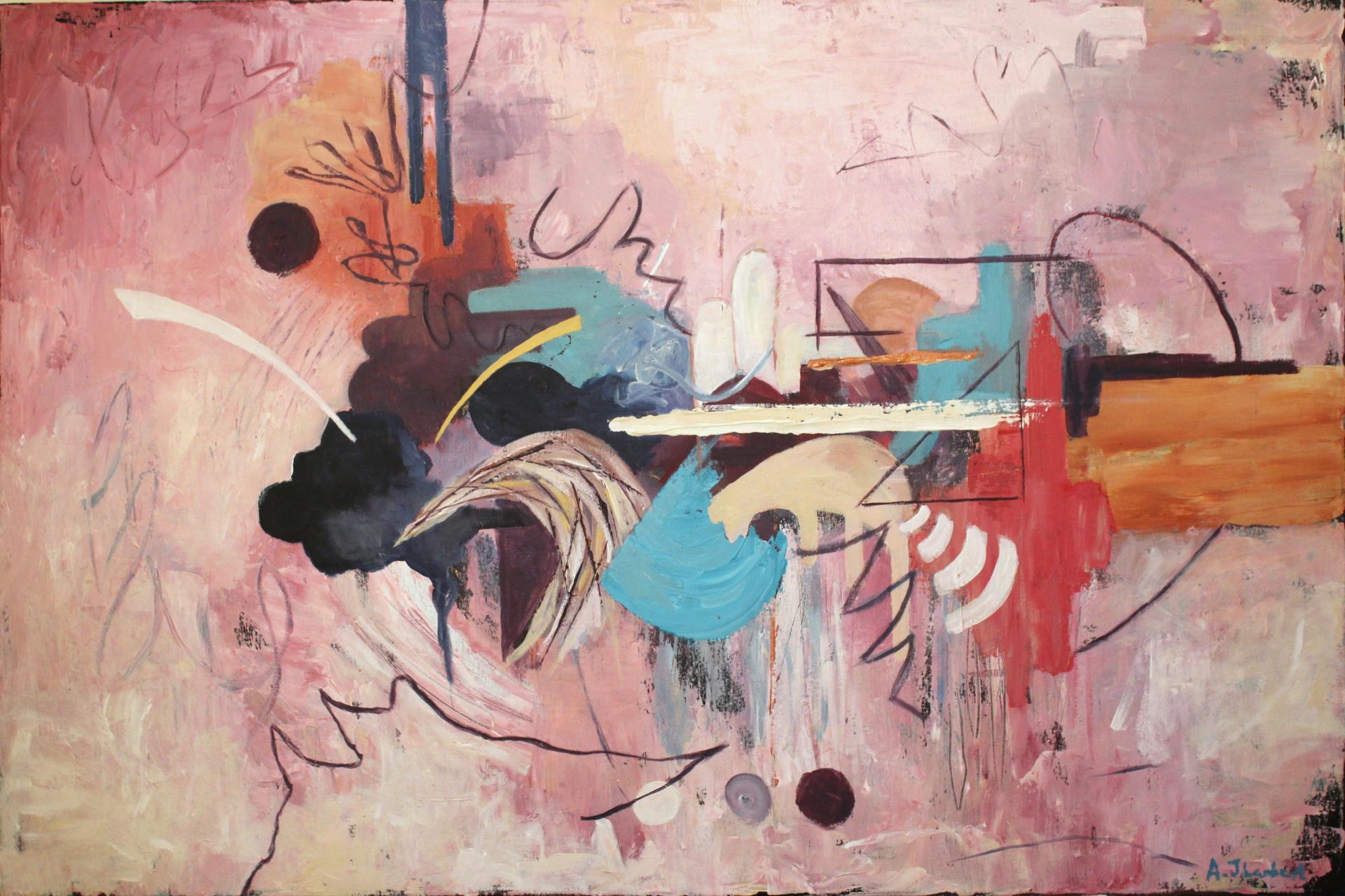 'Untitled'. 90cm x 60 cm.