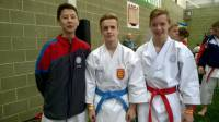 Jon, Thomas and Yakub at the East Yorkshire Open 2015